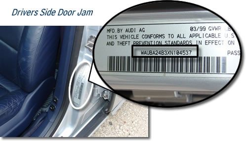 Where To Find Vin Number >> How To Find A Vin Number Vehicle Identification Number